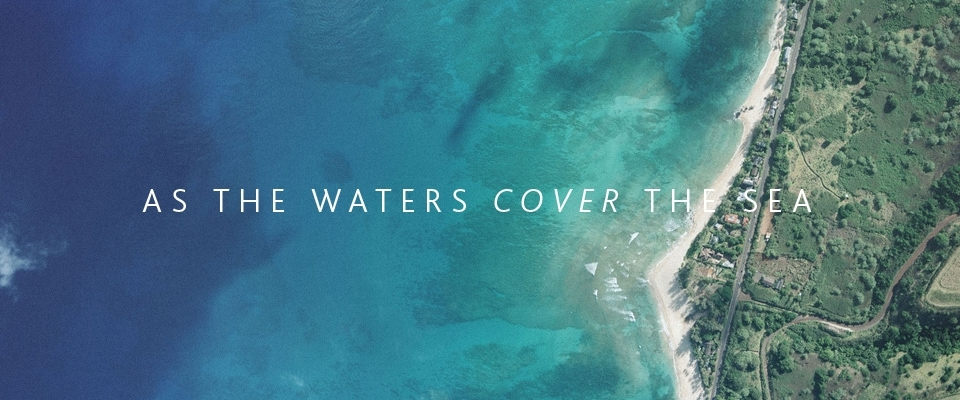 As the waters cover the sea st peter 39 s fireside for Covers from the ocean